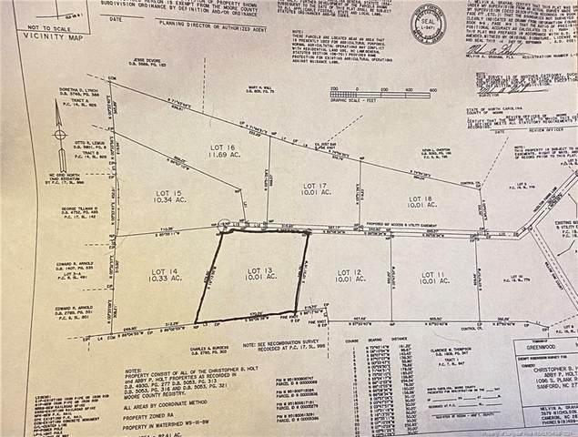 0 Hazelton Farms Lane, Cameron, NC 28326 (MLS #668271) :: Towering Pines Real Estate