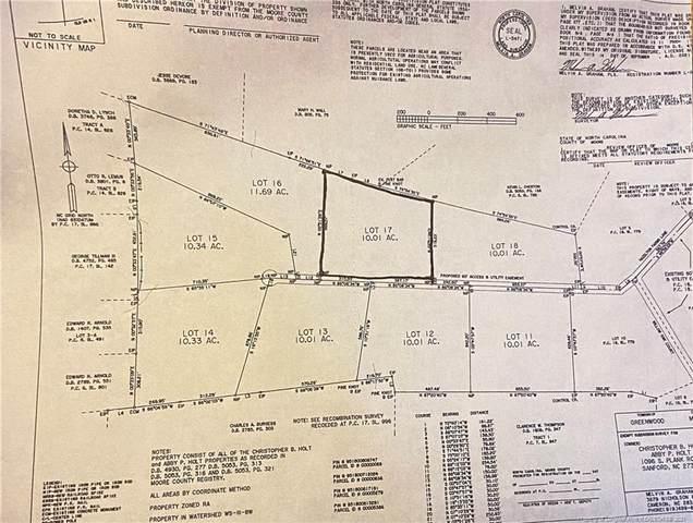 0 Hazelton Farms Lane, Cameron, NC 28326 (MLS #668278) :: Towering Pines Real Estate