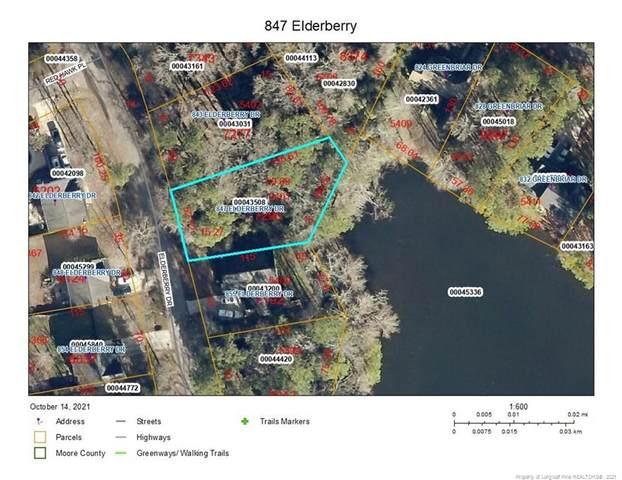 847 Elderberry Drive, Vass, NC 28394 (MLS #670559) :: RE/MAX Southern Properties