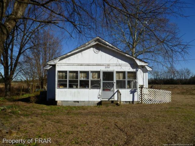 335 Mcgougan Road, Lumber Bridge, NC 28357 (MLS #554927) :: Weichert Realtors, On-Site Associates