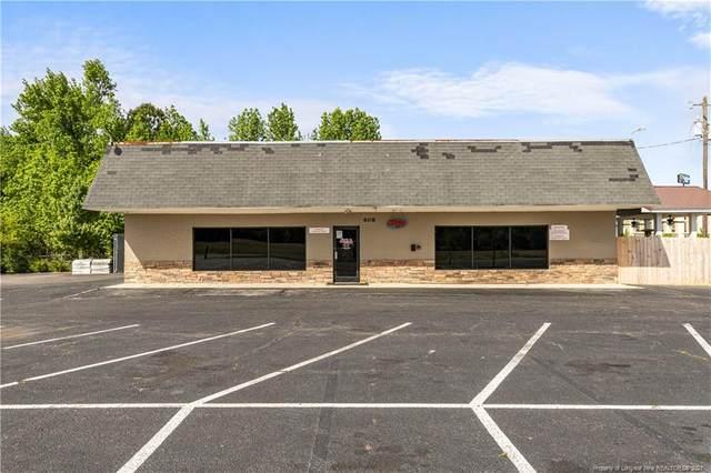 608 Spring Branch Road, Dunn, NC 28334 (MLS #640029) :: Towering Pines Real Estate