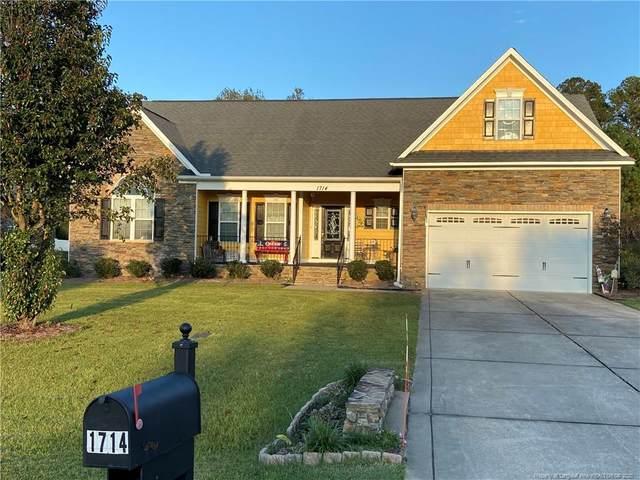 1714 Holloman Drive, Fayetteville, NC 28312 (MLS #645092) :: Freedom & Family Realty