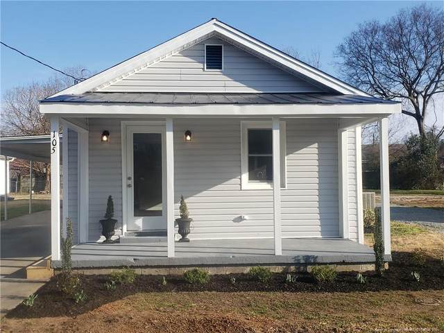 105 4th Street, Erwin, NC 28339 (MLS #649553) :: Moving Forward Real Estate