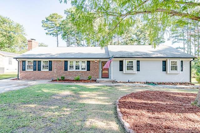 3106 Hickory Hill Drive NW, Sanford, NC 27330 (#667031) :: The Helbert Team