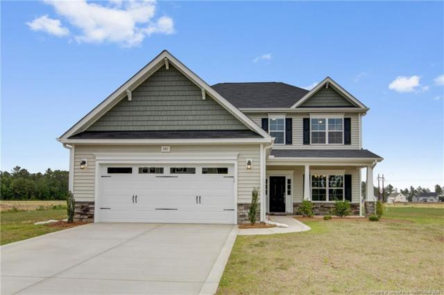 345 Gadson Drive, Hope Mills, NC 28348 (MLS #549673) :: Weichert Realtors, On-Site Associates