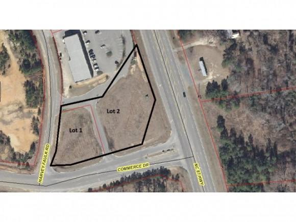 0 Nc 87 @ Commerce Drive, Sanford, NC 27332 (MLS #506396) :: Weichert Realtors, On-Site Associates
