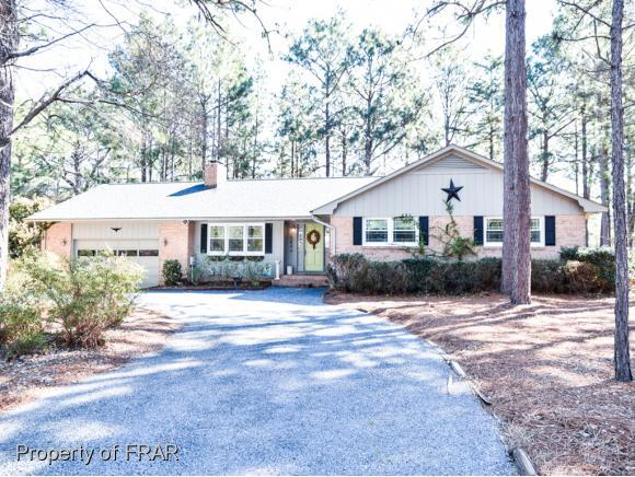 7 Par Dr, Whispering Pines, NC 28327 (MLS #538540) :: Weichert Realtors, On-Site Associates