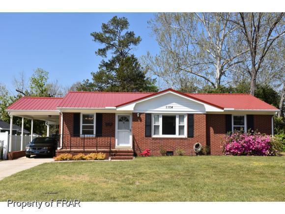 1104 Juniper Dr, Fayetteville, NC 28304 (MLS #539852) :: Weichert Realtors, On-Site Associates