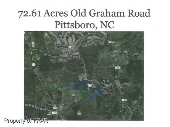 Old Graham Road, Pittsboro, NC 27312 (MLS #541083) :: Moving Forward Real Estate