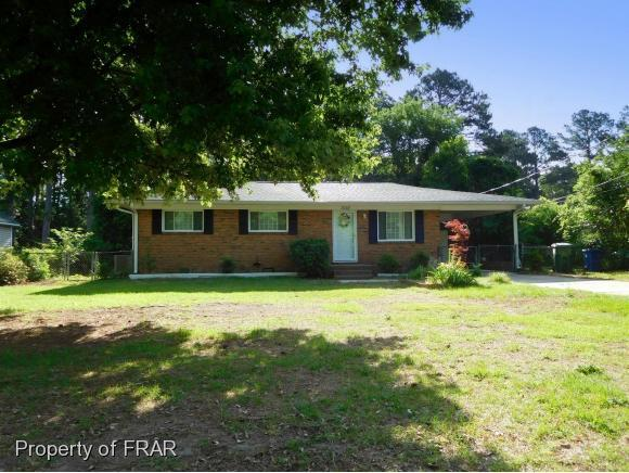 3110 Wedgewood Drive, Fayetteville, NC 28301 (MLS #542710) :: Weichert Realtors, On-Site Associates
