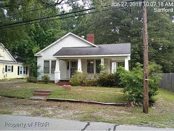 104 Chisholm St, Sanford, NC 27330 (MLS #544719) :: Weichert Realtors, On-Site Associates