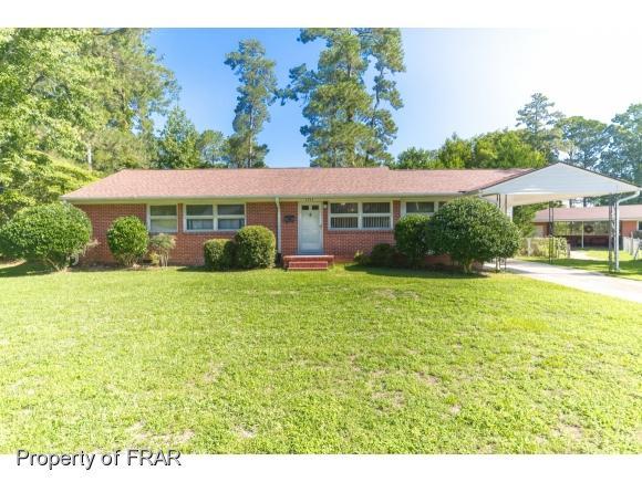 1814 Manteo Street, Fayetteville, NC 28303 (MLS #547552) :: The Rockel Group
