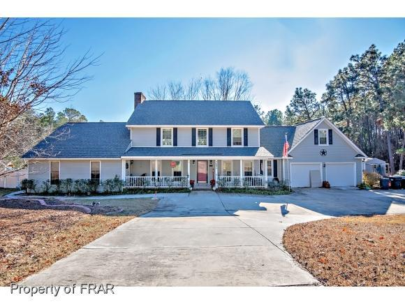 7691 Spurge Drive, Fayetteville, NC 28311 (MLS #553309) :: The Rockel Group