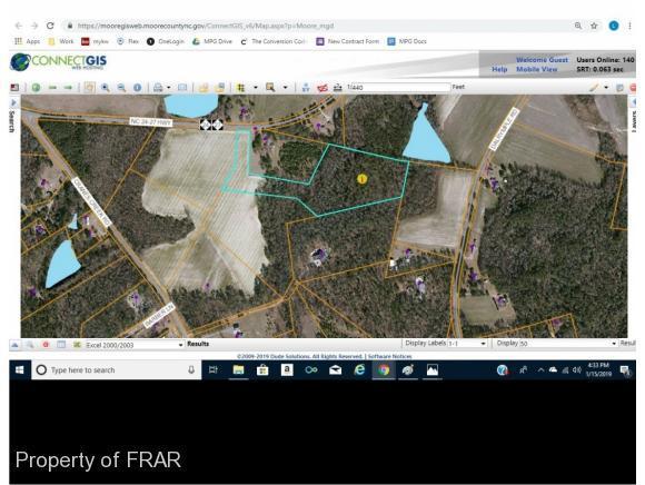 Cranes Creek Road, Cameron, NC 28326 (MLS #554571) :: Weichert Realtors, On-Site Associates