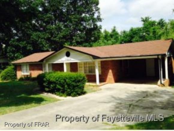 7554 Decatur Drive, Fayetteville, NC 28314 (MLS #554757) :: Weichert Realtors, On-Site Associates