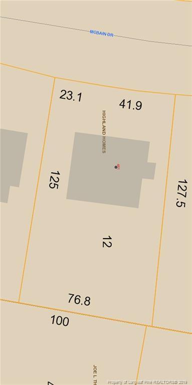 461 Mcbain Drive, Fayetteville, NC 28305 (MLS #601123) :: Weichert Realtors, On-Site Associates