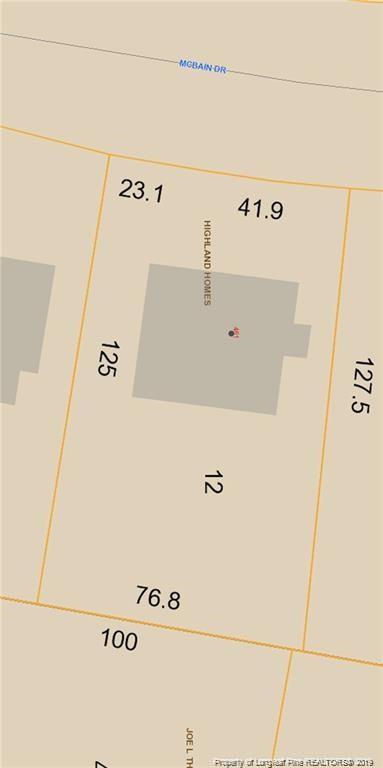 461 Mcbain Drive, Fayetteville, NC 28305 (MLS #603466) :: Weichert Realtors, On-Site Associates