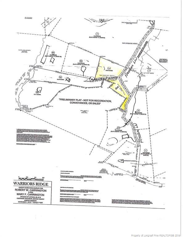 Lot 10 Kelly Road, Carthage, NC 28327 (MLS #611671) :: The Signature Group Realty Team