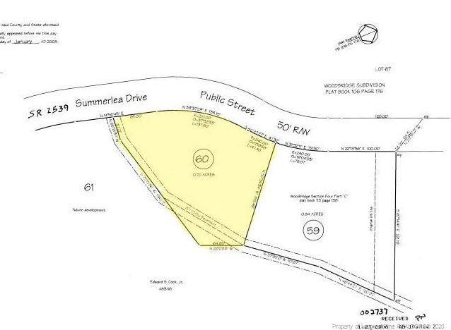 Lot 60 Summerlea Drive, Fayetteville, NC 28311 (MLS #640071) :: The Signature Group Realty Team