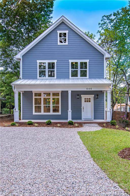 686 N Ridge Street, Southern Pines, NC 28387 (MLS #645889) :: The Signature Group Realty Team