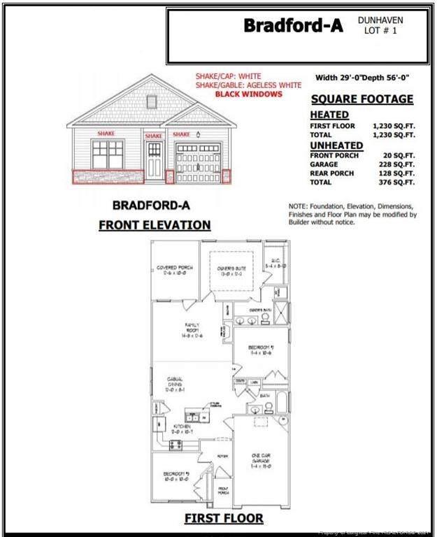 111 Jess Lane, Dunn, NC 28334 (MLS #649212) :: Moving Forward Real Estate
