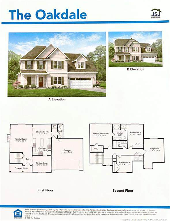 4812 Headwind (Lot 17) Drive, Fayetteville, NC 28306 (MLS #650290) :: The Signature Group Realty Team