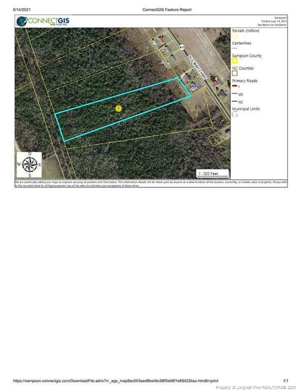 Old Mintz Highway, Roseboro, NC 28382 (MLS #659507) :: Towering Pines Real Estate