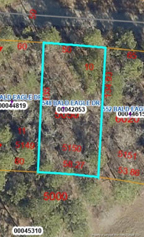 548 Bald Eagle Drive, Vass, NC 28394 (MLS #662576) :: RE/MAX Southern Properties