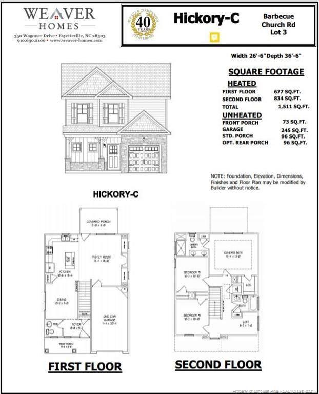4903 Barbecue Church Road, Sanford, NC 27332 (MLS #663287) :: Moving Forward Real Estate