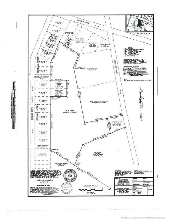 12.42 acres Kendale Drive, Sanford, NC 27330 (MLS #663543) :: RE/MAX Southern Properties