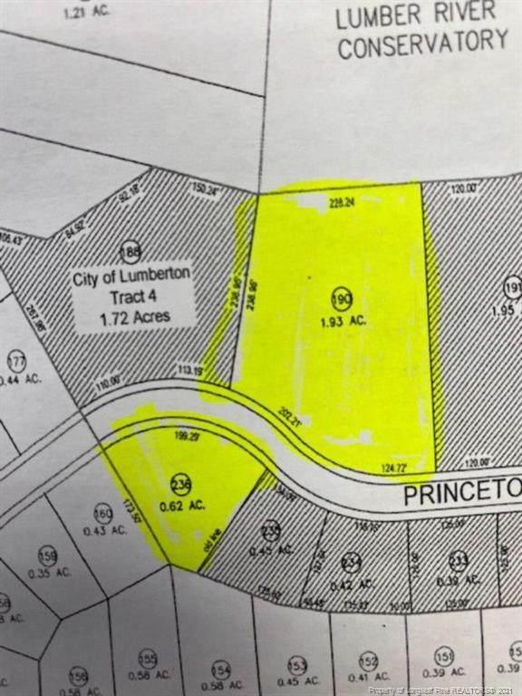 Princeton Street, Lumberton, NC 28360 (#668355) :: The Blackwell Group