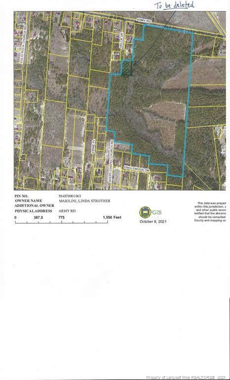 TBD Army Road, Raeford, NC 28376 (MLS #670667) :: EXIT Realty Preferred
