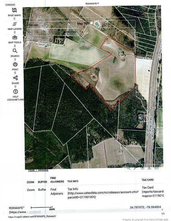 1665 Cedar Grove Church Road, St. Pauls, NC 28384 (MLS #644624) :: Moving Forward Real Estate