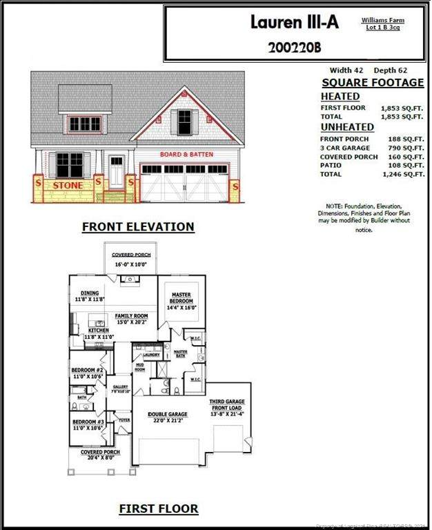 2004 Josey Williams Road, Erwin, NC 28339 (MLS #665423) :: The Signature Group Realty Team