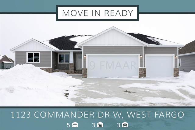 1123 Commander Drive W, West Fargo, ND 58078 (MLS #19-7061) :: FM Team