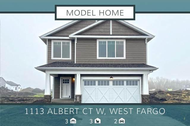 1113 Albert Court W, West Fargo, ND 58078 (MLS #20-2540) :: FM Team