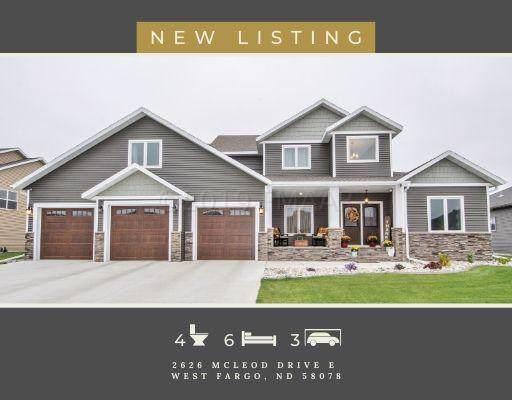 2626 Mcleod Drive E, West Fargo, ND 58078 (MLS #19-6721) :: FM Team