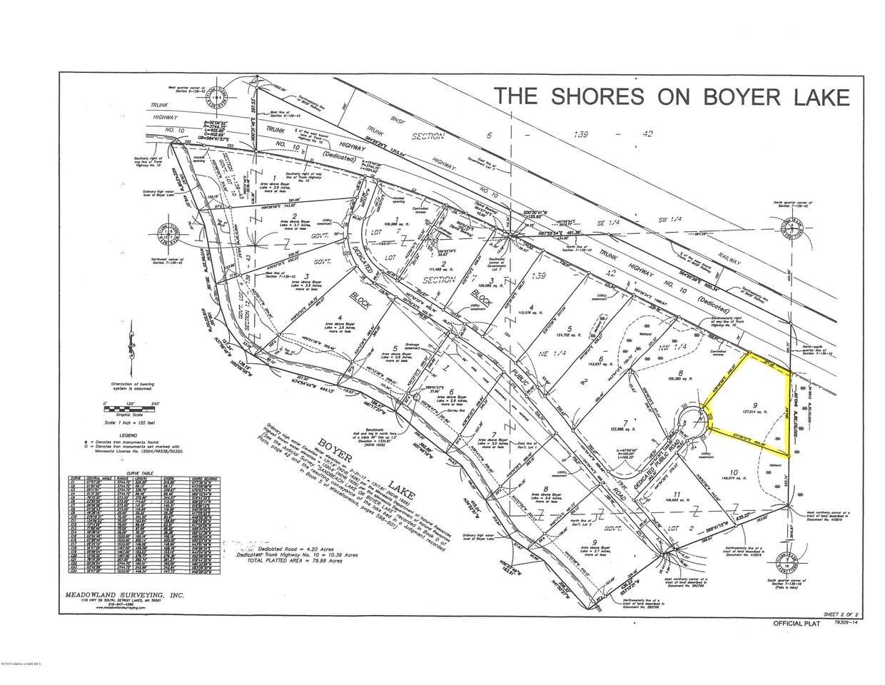 Lot 9 Blk2 The Shores On Boyer Lake - Photo 1