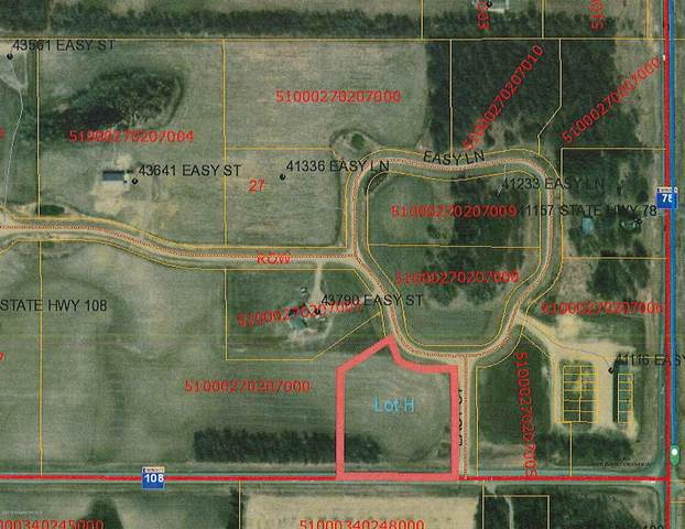 Lot  H Easy Lane, Perham, MN 56573 (MLS #20-32404) :: Ryan Hanson Homes- Keller Williams Realty Professionals