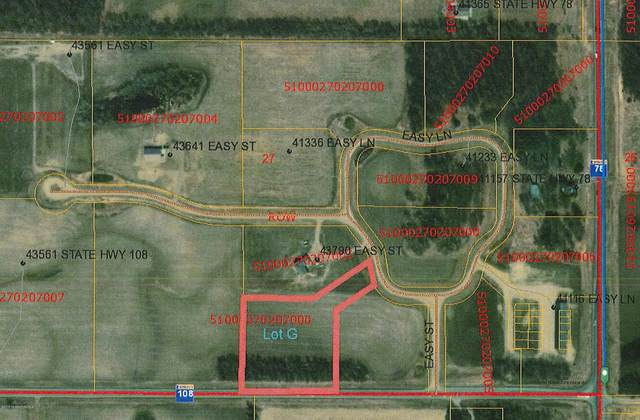 Lot  G Easy Lane, Perham, MN 56573 (MLS #20-32406) :: Ryan Hanson Homes- Keller Williams Realty Professionals