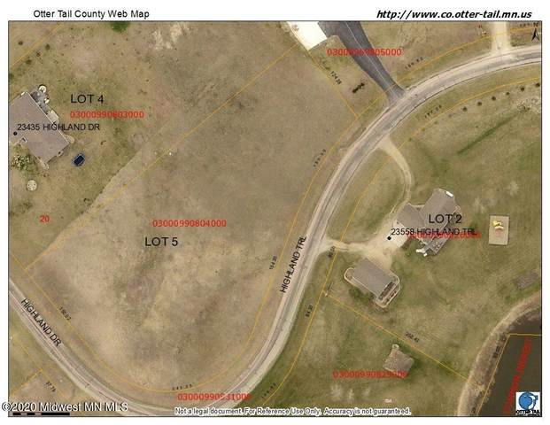 Lot 5 Highland Drive, Fergus Falls, MN 56537 (MLS #20-32480) :: Ryan Hanson Homes- Keller Williams Realty Professionals