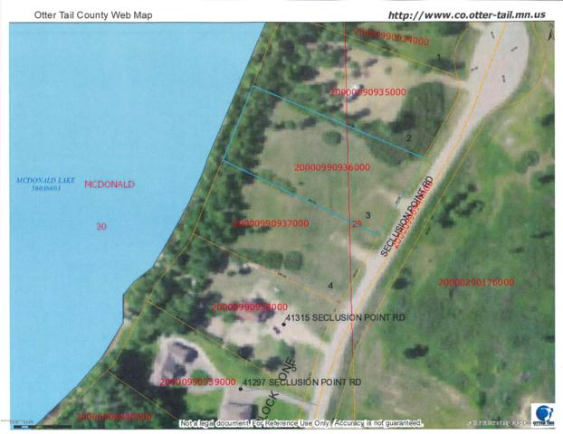 Lot 3 Seclusion Point Road, Dent, MN 56528 (MLS #20-21520) :: Ryan Hanson Homes- Keller Williams Realty Professionals