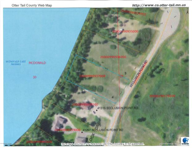 Lot 4 Seclusion Point Road, Dent, MN 56528 (MLS #20-21521) :: Ryan Hanson Homes- Keller Williams Realty Professionals