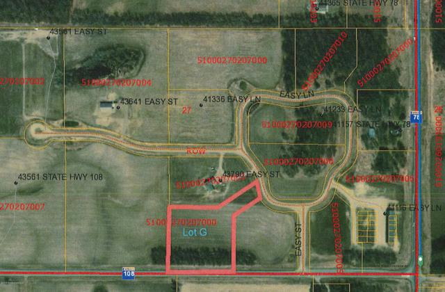 Lot  G Easy Lane, Perham, MN 56573 (MLS #20-24278) :: Ryan Hanson Homes- Keller Williams Realty Professionals