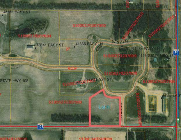 Lot  H Easy Lane, Perham, MN 56573 (MLS #20-24279) :: Ryan Hanson Homes- Keller Williams Realty Professionals