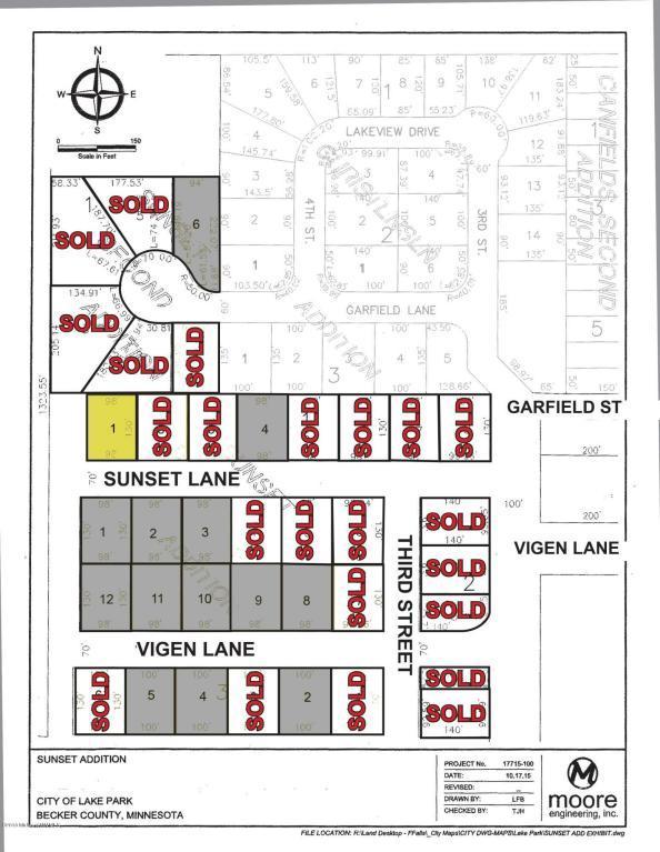 Lt 1 Blk 1 Sunset Lane, Lake Park, MN 56554 (MLS #20-22111) :: Ryan Hanson Homes Team- Keller Williams Realty Professionals