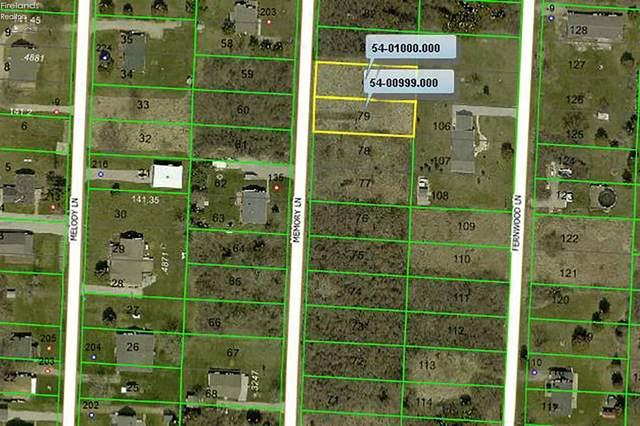 0 Memory Lane, Kelleys Island, OH 43438 (MLS #20202851) :: The Holden Agency