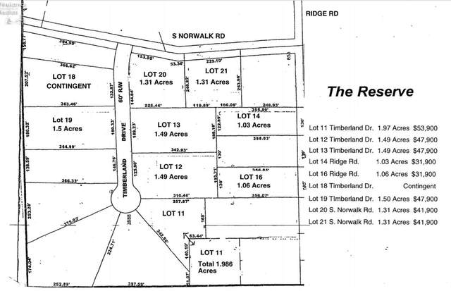 0 S. Norwalk Road Sec 4 Lot 6 Sub, Norwalk, OH 44857 (MLS #20203180) :: The Holden Agency