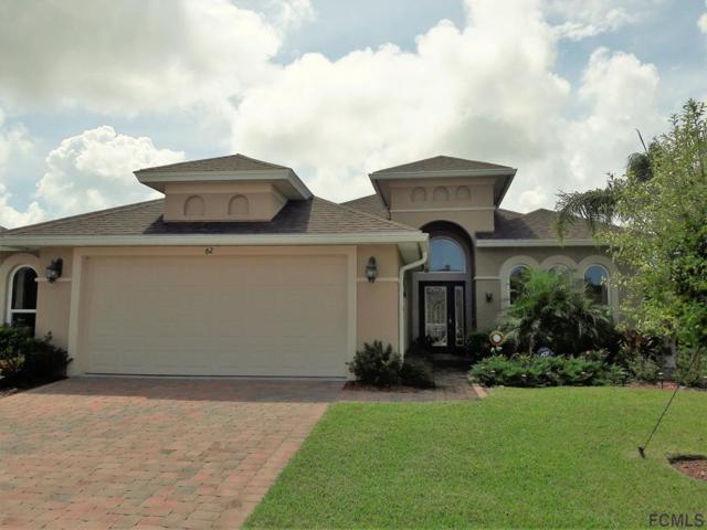 62 Arena Lake Dr, Palm Coast, FL 32137 (MLS #242067) :: RE/MAX Select Professionals