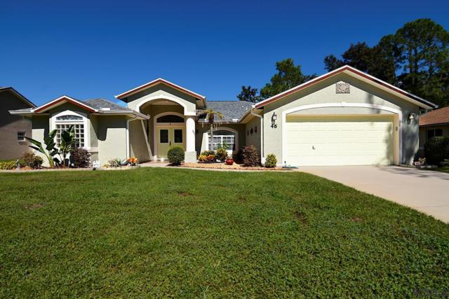 46 Bickford Dr, Palm Coast, FL 32137 (MLS #242541) :: RE/MAX Select Professionals